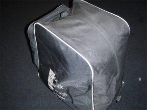 Skischoen Tas (Zwart)-0