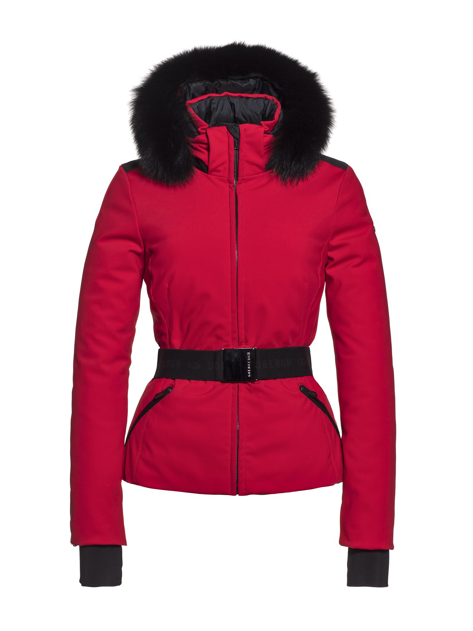 Goldbergh Hida Fur Jacket (Lava)