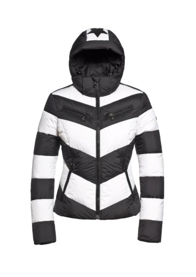 Goldbergh Mitsuki Jacket (White) - onlineskishop.nl