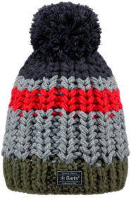 Barts Colton Beanie (Charcoal)-0