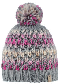 Barts Nicole Beanie Kinderen (Heather Grey)-0