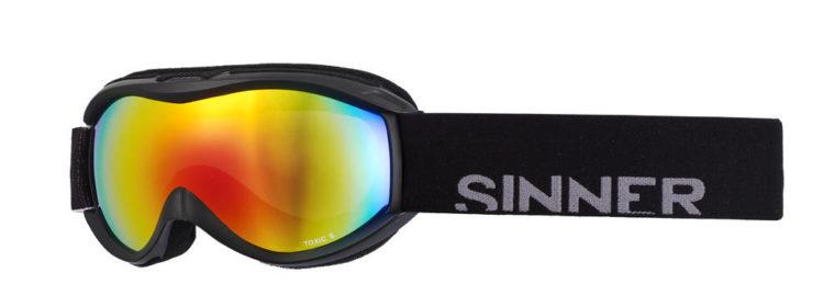 Sinner Toxic S Matt (Black-Double Red)-0