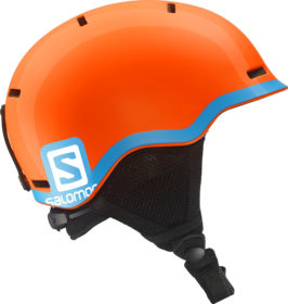 Salomon Grom Helmet junior (Orange/Blue)-0