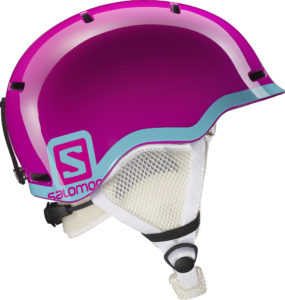 Salomon Grom Helmet junior (Fushia)-0