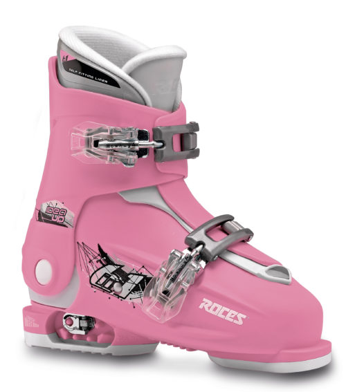 Roces Idea Up 30-35 (Deep-Pink/White)-0