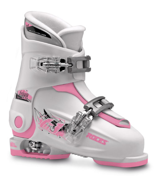 Roces Idea Up 30-35 (White/Deep-Pink)-0