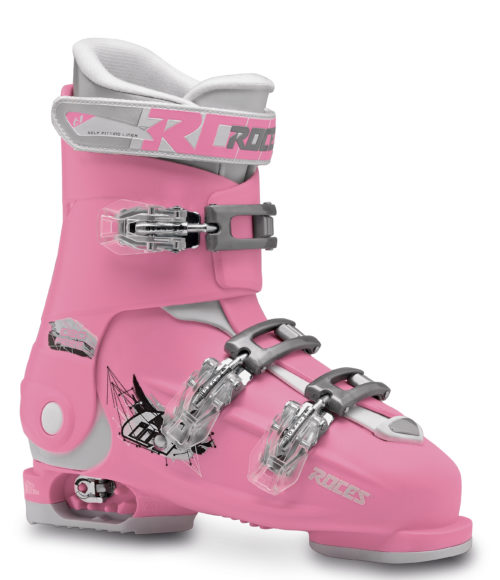 Roces Idea Free 36 tot 40 (Deep-Pink/White)-0