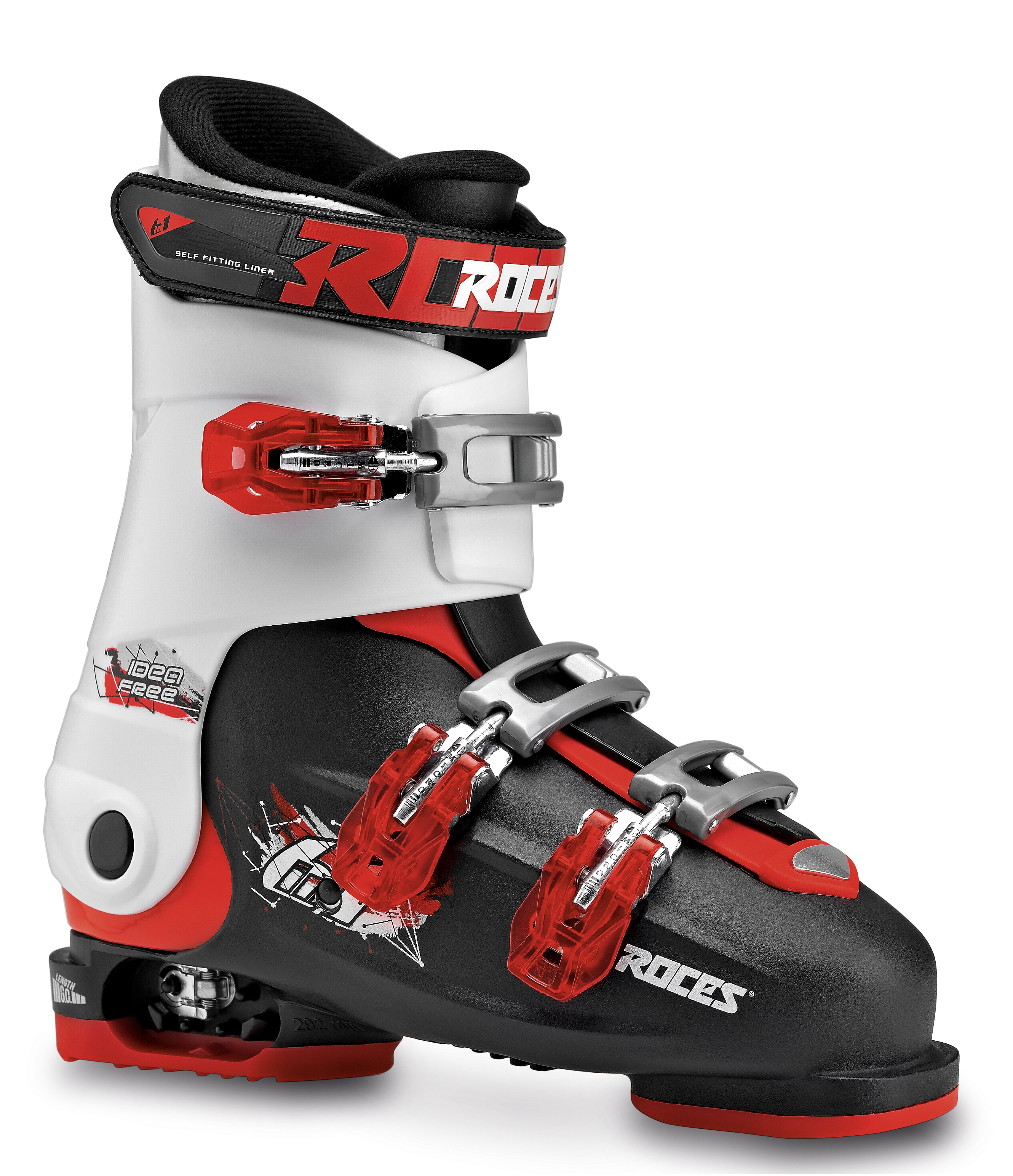 a8dd7f847f5 Roces Idea Free 36 tot 40 (Black-White-Red) - onlineskishop.nl