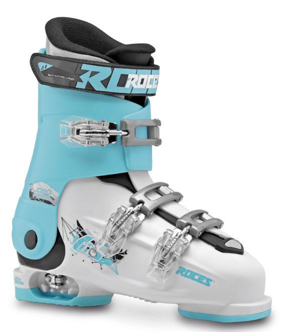 Roces Idea Free 36 tot 40 (White-Light/Blue-Black)-0