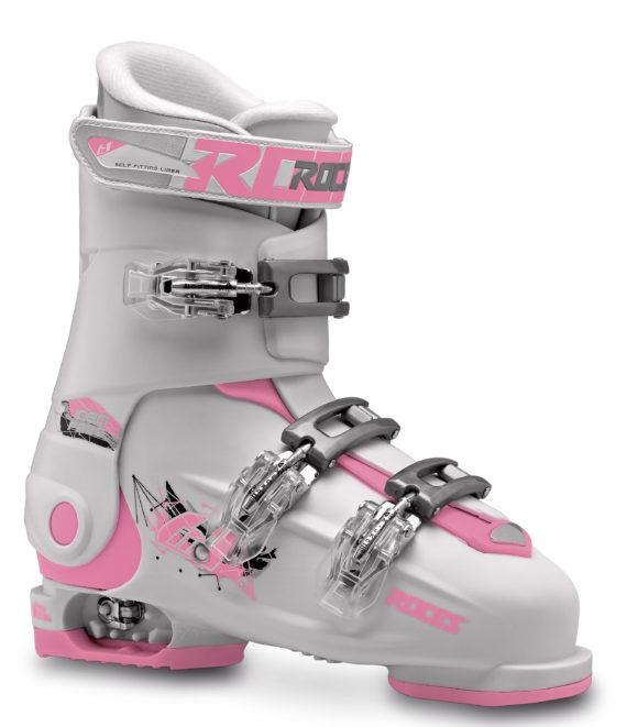 Roces Idea Free 36 tot 40 (White/Deep-Pink)-0